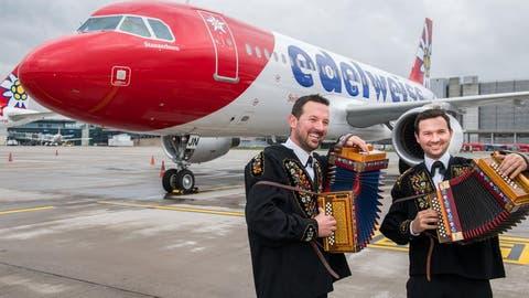 Das neueste Edelweiss-Flugzeug heisst «Stanserhorn»