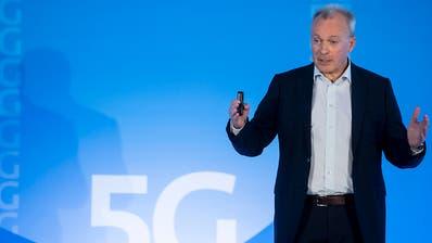 Swisscom will bis Ende 2019 90 Prozent der Schweiz mit 5G abdecken