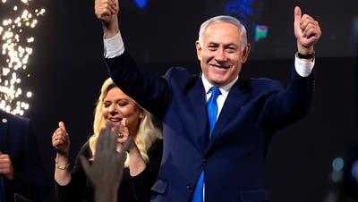 Rechtes Lager um Regierungschef Netanjahu siegt bei Wahl in Israel