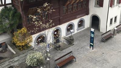 Die Geschäftsstelle von Arbon Tourismus in der Altstadt. Bild: Tanja von Arx