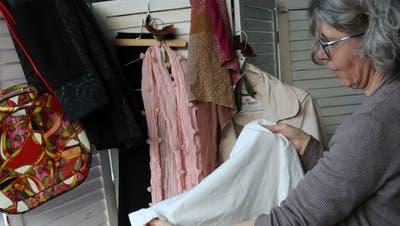 Claudia Bertschi sammelt für ein wohltätiges Projekt. (Bild: Markus Bösch)