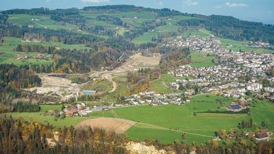 Die Deponiesituation im Raum St.Gallen spitzt sich zu