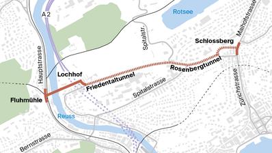 Spange Nord: Der Kanton Luzern will nun auch die Variante Haldenstrasse vertieft prüfen