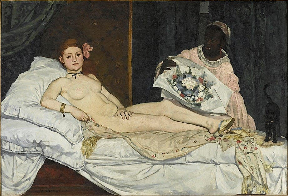 Edouard Manet: Olympia. Und Laure.