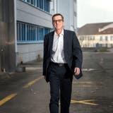 Bernhard Merki, ehemaliger CEO des Hochdorfer Fensterherstellers 4B, ist zum Verwaltungsratspräsident von Hochdorf gewählt worden. (Bild: Philipp Schmidli, Hochdorf, 20. Juni 2017)