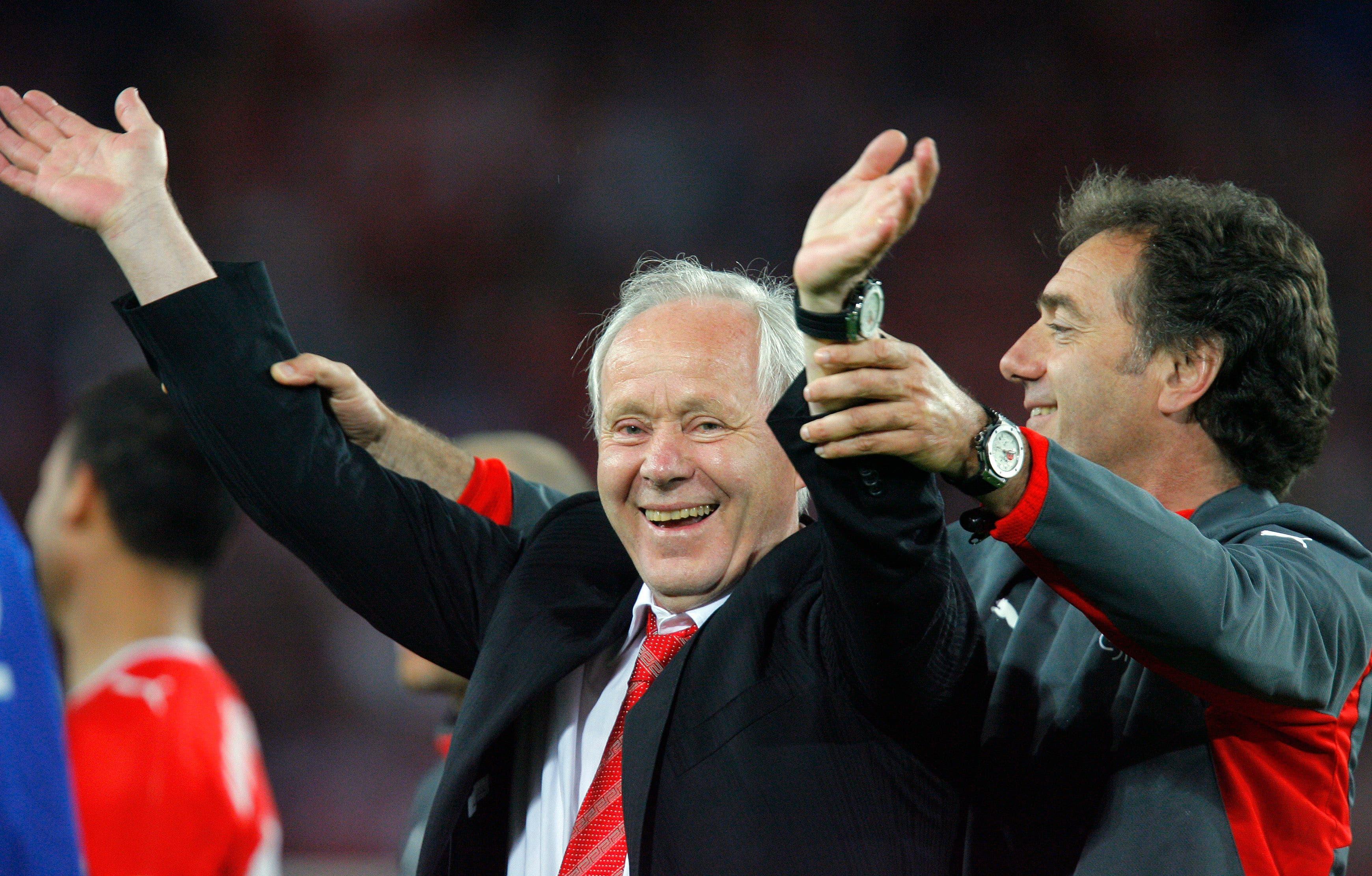 Sein letztes Spiel als Nationaltrainer (Bild: Keystone)