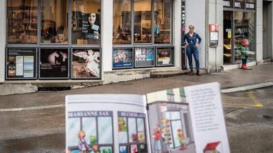 Gezeichnet fühlt sich Marianne ein bisschen bieder: Vom Frauenfelder Bücherladen Sax gibt es ein Pixi-Buch
