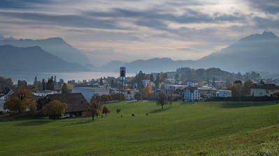 Meggen ist eine von zwölf Luzerner Gemeinden, welche die Aufgaben- und Finanzreform (AFR) 18 ablehnt. (Bild: Boris Bürgisser, 7. November 2018)