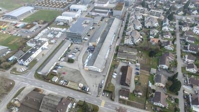 Auf dem als Hildebrand-Areal bekannten Gebiet Brüel sollen Wohnungen für rund 200 Personen entstehen. (Bild: Olaf Kühne)