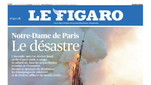 «Notre Drame» – Die Titel der Zeitungen am Tag nach der Katastrophe von Paris