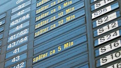 Probleme mit Verspätungen: SBB-Spitze setzt Task-Force ein