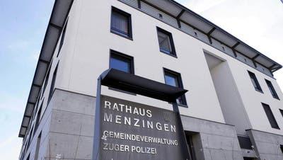 Die Menzinger Verwaltung hat die Ausgaben im Griff