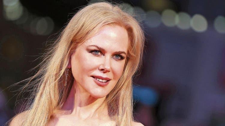 Nicole Kidman changiert in ihren besten Rollen zwischen Fragilität und eiserner Härte. Bild: Neil Hall/EPA (London, 12. Oktober 2017)