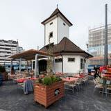 Das Tramhüsli am Centralplatz in Emmenbrücke wird am 4. April eröffnet. (Bilder: Philipp Schmidli, 2. April 2019)
