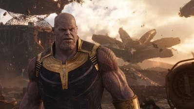 Thanos, ein allmächtiger Titan, ist der eigentliche Star der Avengers-Filme. (Bild: Marvel Studios)