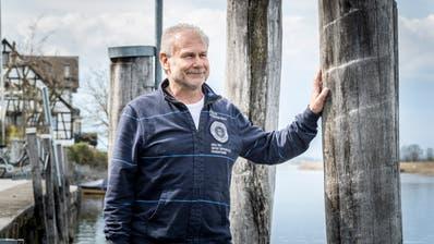 Paul Keller kandidiert als Gemeindepräsident von Gottlieben. (Bild: Andrea Stalder)