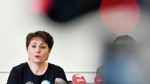 Viel kritisierte Regierungsrätin Franziska Roth bricht mit der SVP