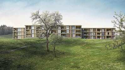 Baustart für eine naturnahe Überbauung in Oberägeri