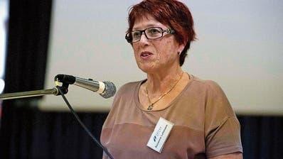 Präsidentin Susi Lehmann leitet die Versammlung der Spitex Müllheim. (Bild: Andreas Taverner)