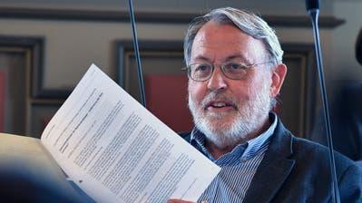 SP-Präsident und Kantonsrat Max Lemmenmeier. (Bild: Regina Kühne)