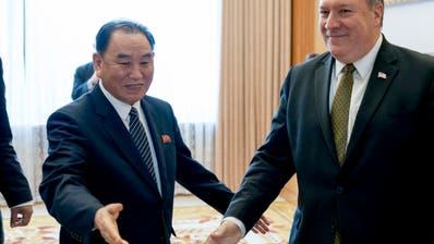 Nordkorea beruft Chefunterhändler für Verhandlungen mit den USA ab