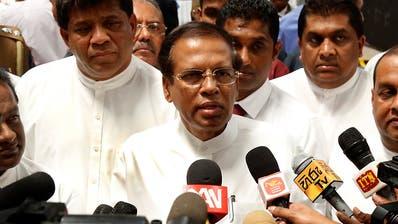 Nach Anschlägen von Sri Lanka: Sicherheitschefs werden entlassen