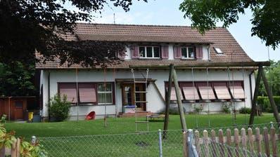 Kindergarten aus den 40er-Jahren an der Thomas-Bornhauser-Strasse 30. (Bild: Max Eichenberger)