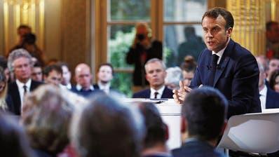 Steuersenkung: Macron versucht Befreiungsschlag