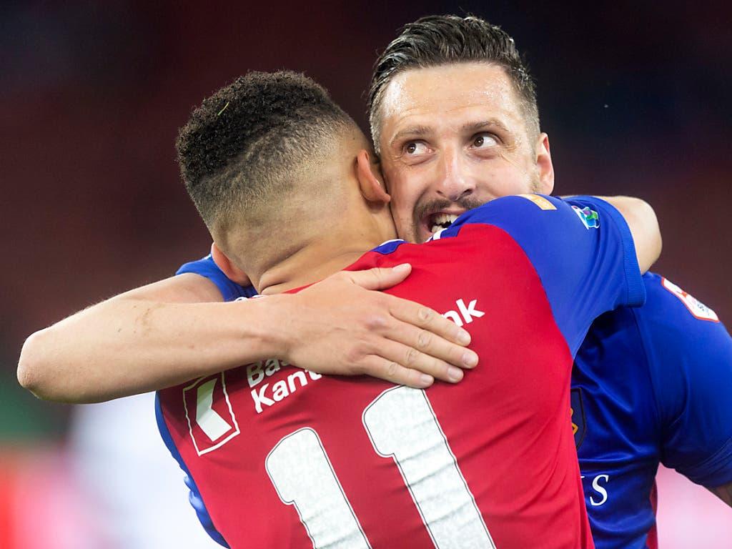 Zdravko Kuzmanovic sorgte mit dem zweiten Treffer des Abends für die Entscheidung im Letzigrund (Bild: KEYSTONE/MELANIE DUCHENE)