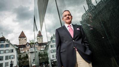 Präsident der Albert-Koechlin StiftungPeter Kasper. (Bild: RogerGruetter, 7. August 2012)