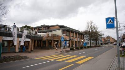 Gemeindehaus Hünenberg.Fotografiert am 19. Januar 2018 in HünenbergZuger Zeitung/Maria SchmidGebäude, Haus, Gemeinde,