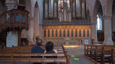 In St.Laurenzen wird der Weg frei für ein innovatives Orgelkonzept. (Bild: Urs Bucher, 18. August 2018)