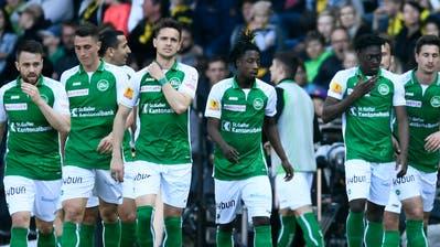 """Fredi Kurth auf der Gegentribuene der AFG-Arena, fuer neue Rubrik """"Gegentribuene"""" auf Tagblatt-online."""
