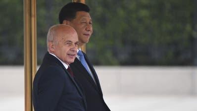 Schweiz und China unterschreiben «Seidenstrassen»-Absichtserklärung