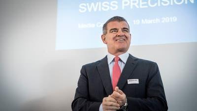 Schweizer Präzision ist eines der Markenzeichen Stadlers und seines Hauptaktionärs und VerwaltungsratspräsidentenPeter Spuhler. (Bild: Andrea Stadler (Bussnang, 19. März 2019))