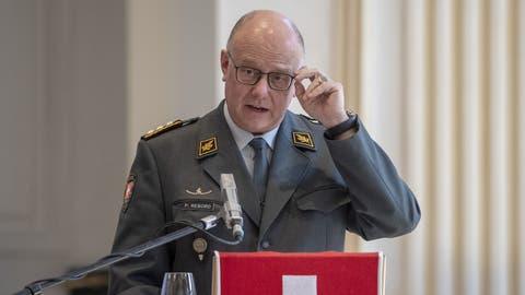 Wird Ende Jahr zurücktreten: Philippe Rebord. (Bild: Keystone)