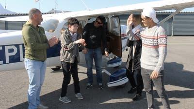 Nicht nur die Bewohner zeigten sich begeistert, auch für die Betreuer und Piloten war der Flugtag ein unvergessliches Ereignis. (Bild: PD)
