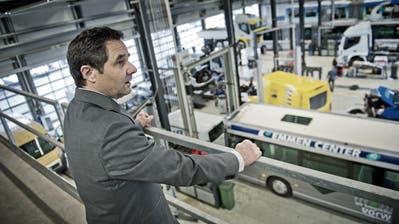 Robert Meyer, Mitglied des Verwaltungsratesder Auto AG Group, am Firmensitz in Rothenburg. (Bild: Pius Amrein)