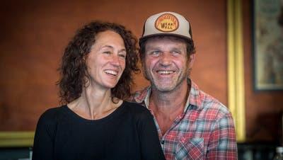 Denise und Martin Eggmann im Kaffee- und Teehaus Dreiegg an der Metzgerstrasse, das sie seit 20 Jahren betreiben. (Bild: Andrea Stalder)