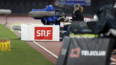 Die SRG schaut im Kampf um die Rechte einer Liveübertragung des Champions-League-Finals gegen Teleclub in die Röhre. (Bild: Alessandro Della Bella / Keystone)