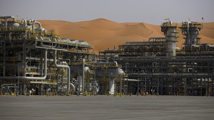 Saudi Aramcos Ölfelder in Shaybah, Saudi Arabien. Bild: Simon Dawson/Bloomberg (2. Oktober 2018)