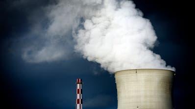 Aussenansicht des Kernkraftwerks Leibstadt. (Bild: Pius Amrein, 4. April 2011)