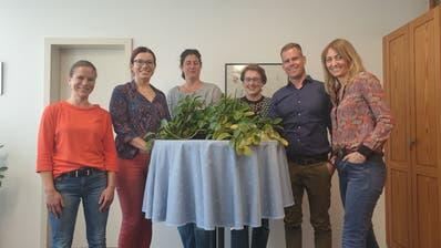 Denise Neuweiler, Langrickenbach, Sandra Stadler, Güttingen, Anja Hohengasser, Altnau, Claudia Ilg, Lengwil, Patrik Hugelshofer, Bottighofen, Esther Jucker, Koordinatorin (Bild: PD)