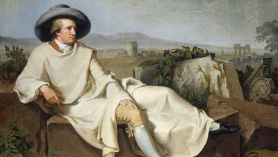 Goethe hat zwei linke Füsse