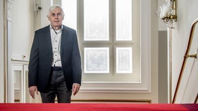 Gesundheitsexperte Bernd Schips präsentierte kürzlich im «Grand Casino» in Luzern Sparmassnahmen für das Gesundheitswesen (Bild: Nadia Schärli (27. März 2019))