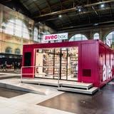 Der Detailhändler und Kioskbetreiber Valora testet im Zürcher Hauptbahnhof erstmals neue Läden ohne Kasse. (Bild: Keystone/Thomas Johannson)