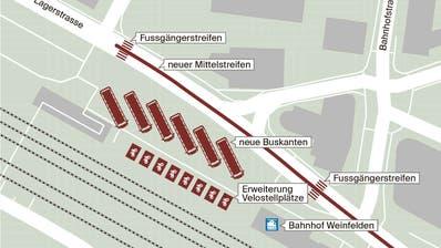 Weinfelder wollen grössere Visionen für die Bahnhofsgestaltung