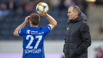 Führungsspieler unter Thomas Häberli: Christian Schwegler. (Bild: KEYSTONE/Urs Flueeler, Luzern, 06.März 2019)