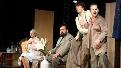 Während das Publikum alles sah, schienen die Protagonisten gar nichts zu sehen. Bild: Christof Lampart
