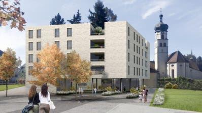 Nach der Zustimmung durch dieKirchbürger kann das geplante Haus Navan in Rorschach für 13,2 Millionen Franken gebaut werden. (Bild:Carlos Martinez Architekten Rorschach AG)